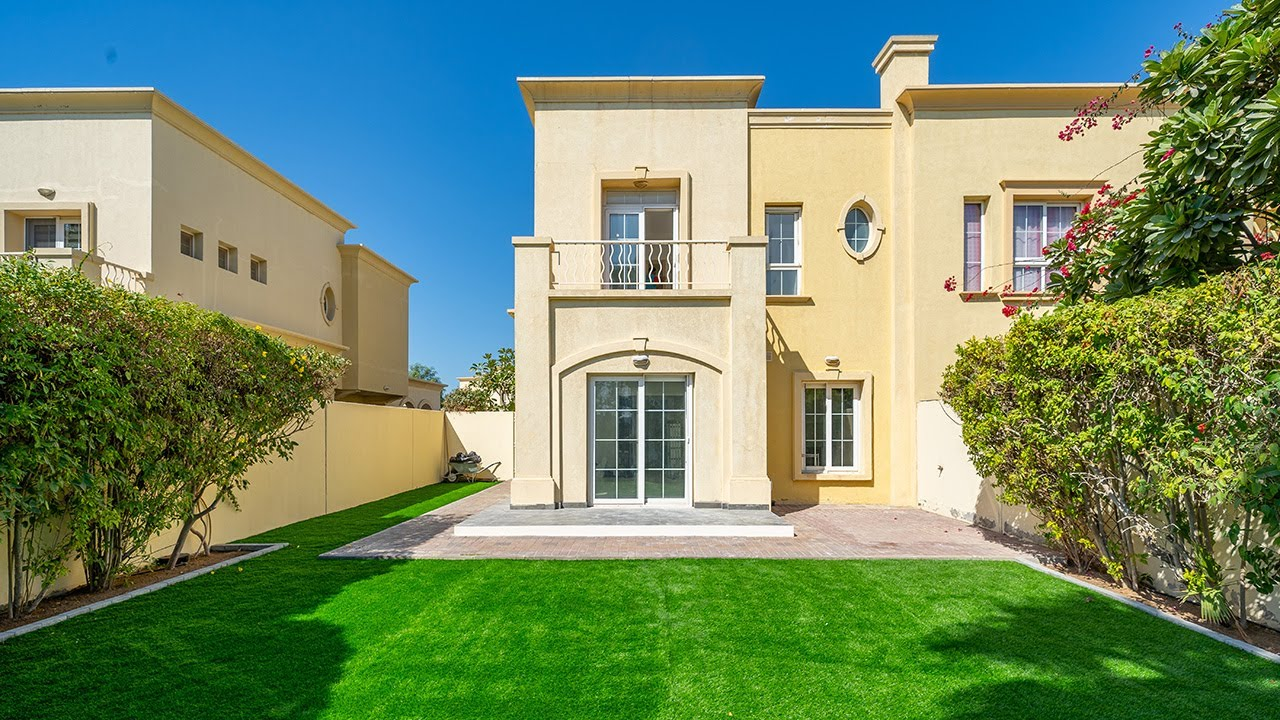 The Springs Villas Dubai – An Ultimate Touch of Living Serenity